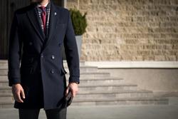冬のスーツスタイル。アウターには何を選ぶ?