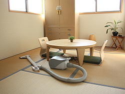 掃除機での畳の掃除方法